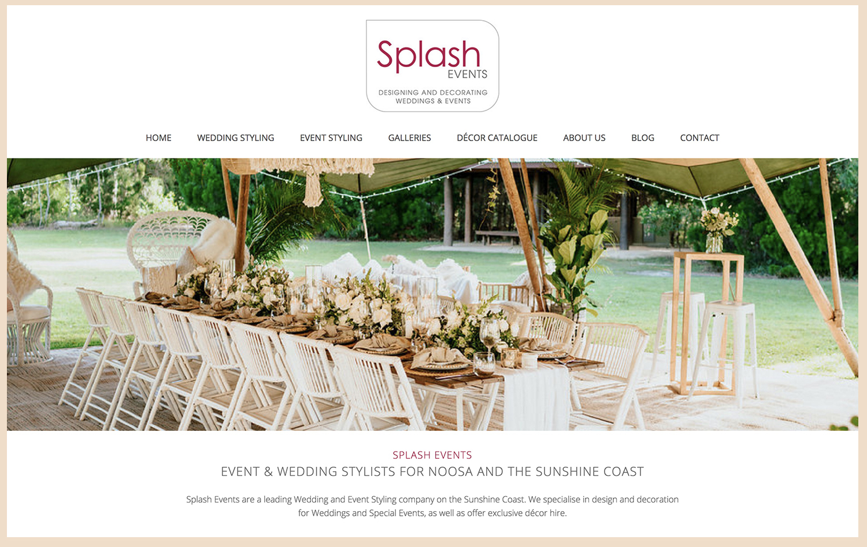 Splash Events - PH: 5470 2468info@splashevents.com.au