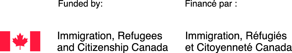 Funded by: Immigration, Refugees and Citizenship Canada