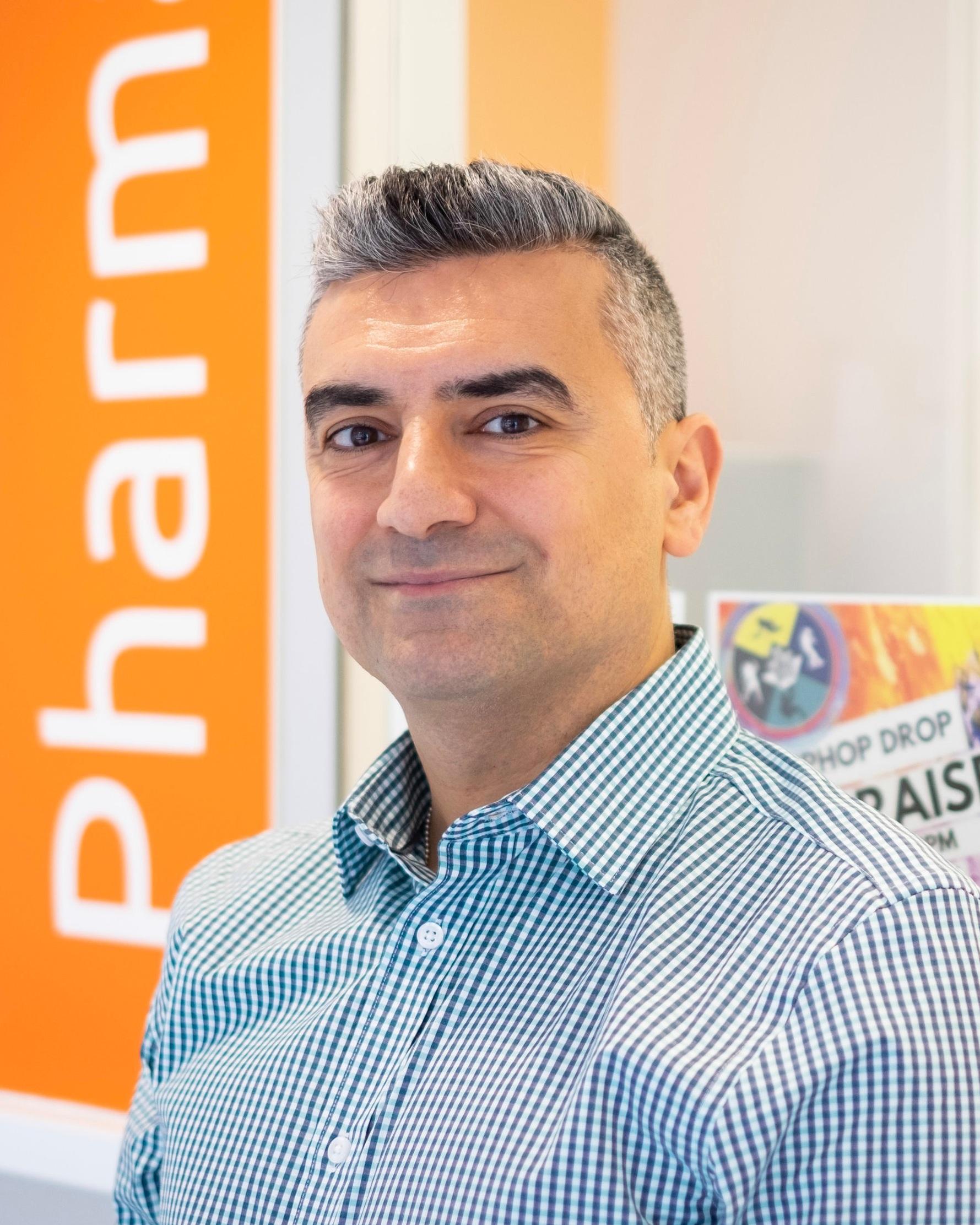 Afshin Jaberi - Pharmacy Manager