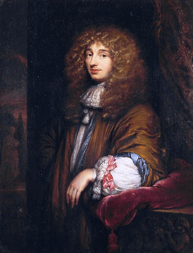 Christiaan Huygens, painting by Caspar Netscher