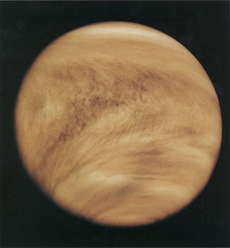 Venus is UV taken from Pioneer Venus Orbieter (Feb 26, 1979)