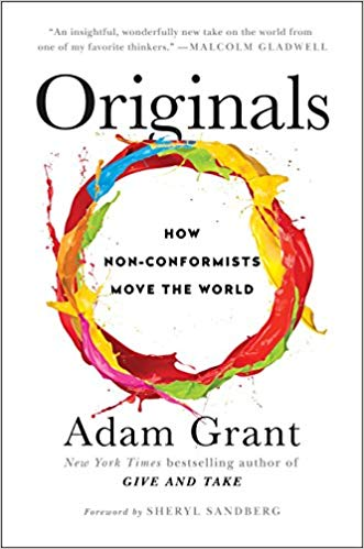 Coaching Books - Originals - Adam Grant - CoachMe Vancouver