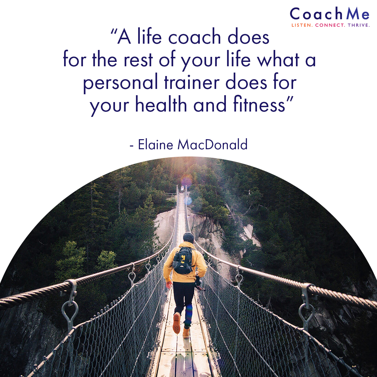 Coaching Images - Life Coach Quotes - Health and Fitness - Elaine MacDonald - CoachMe Vancouver