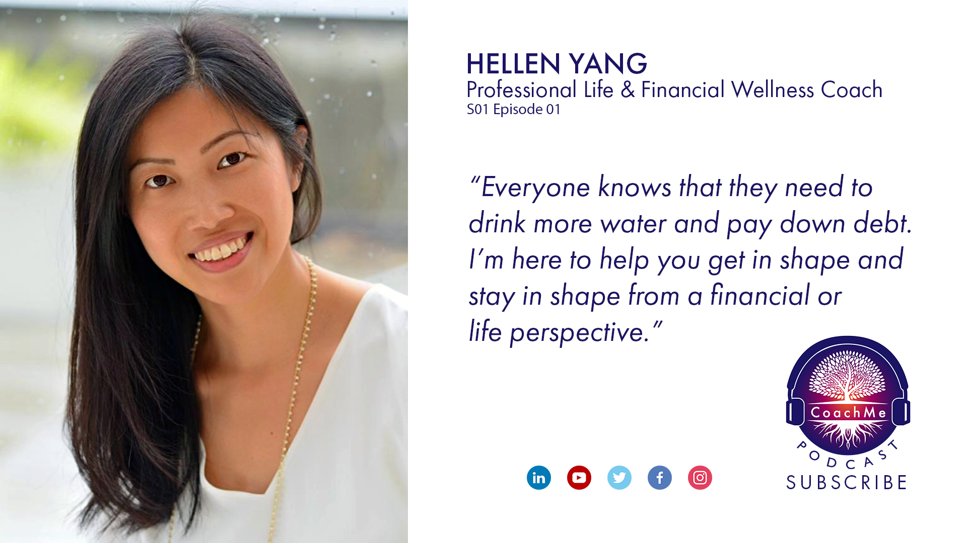 Coach in Vancouver Podcast - Hellen Yang - CoachMe Vancouver