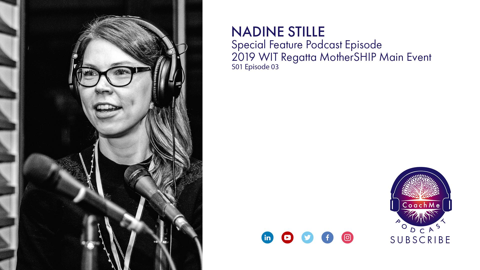 Coach in Vancouver Podcast WiT Regatta - Nadine Stille - CoachMe Vancouver