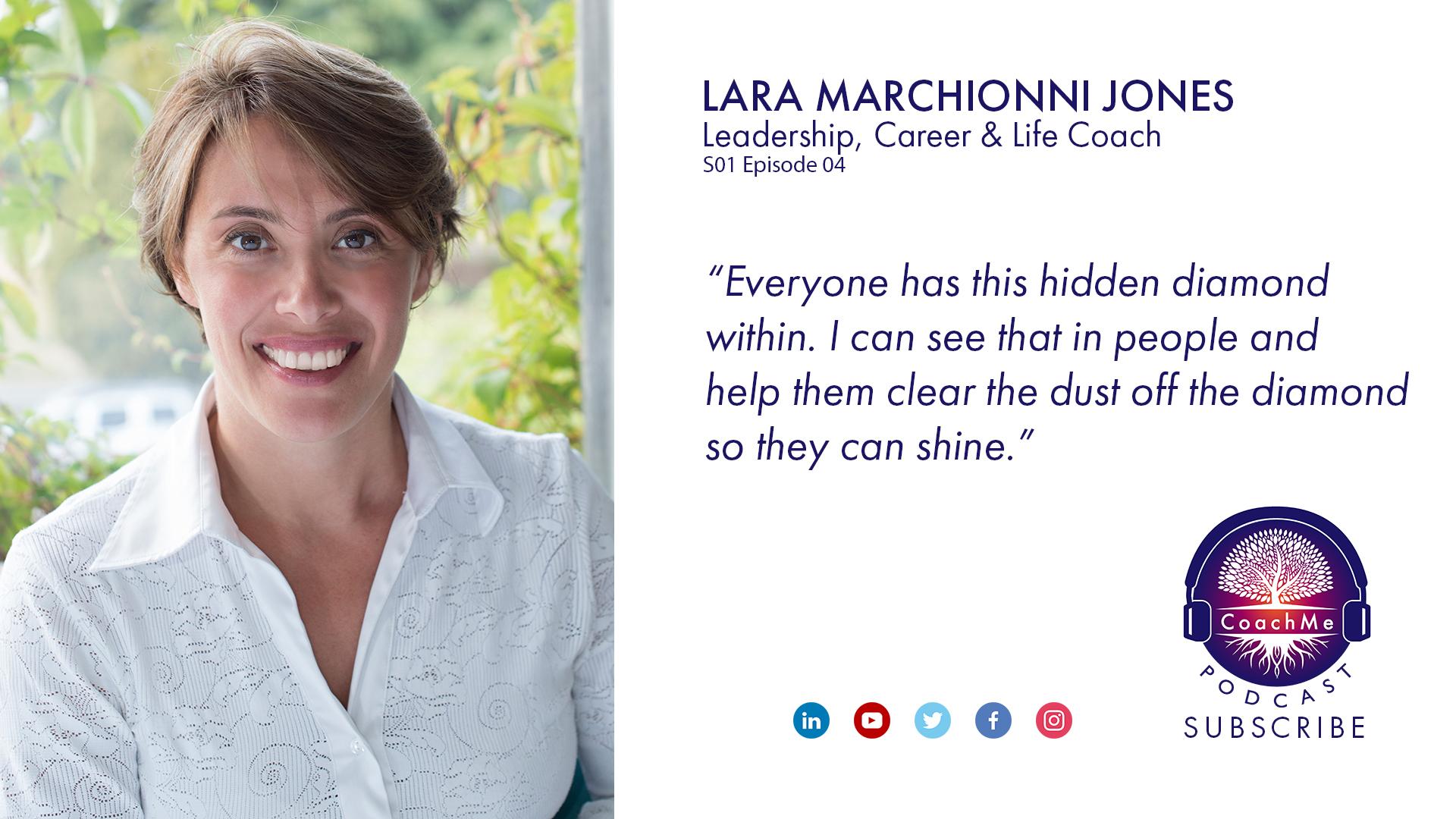 Coach in Vancouver Podcast - Lara Marchionni Jones - CoachMe Vancouver