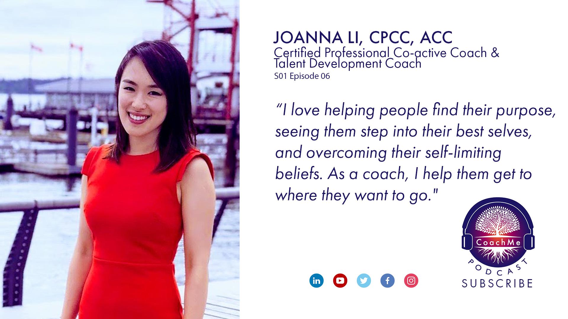 Coach in Vancouver Podcast - Joanna Li - CoachMe Vancouver