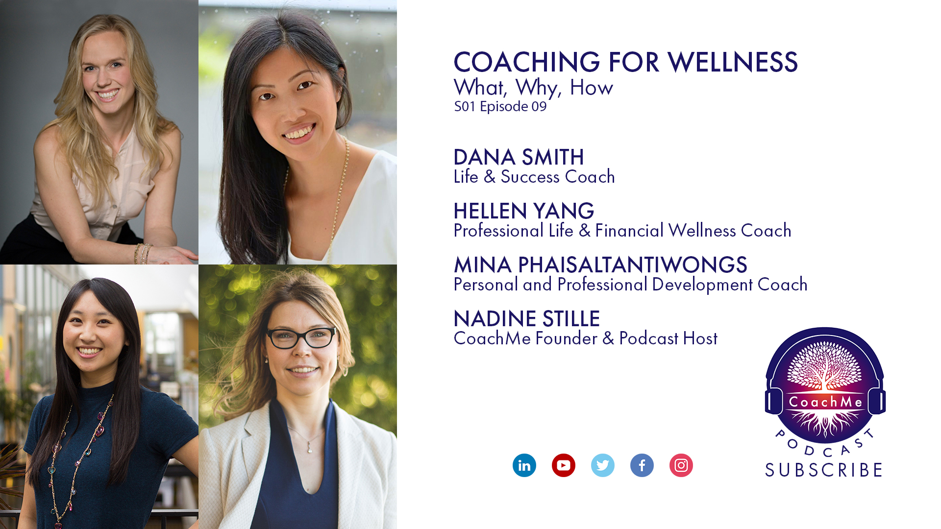Coaches in Vancouver Podcast - Coaching For Wellness - CoachMe Vancouver