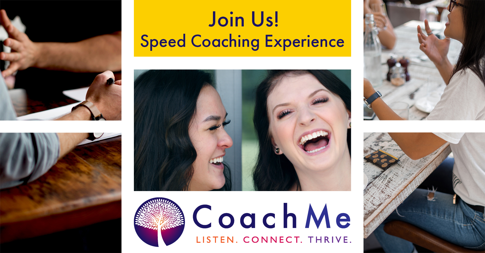 Coaching Workshop in Vancouver - Coaching Event Speed Coaching Experience - CoachMe Vancouver