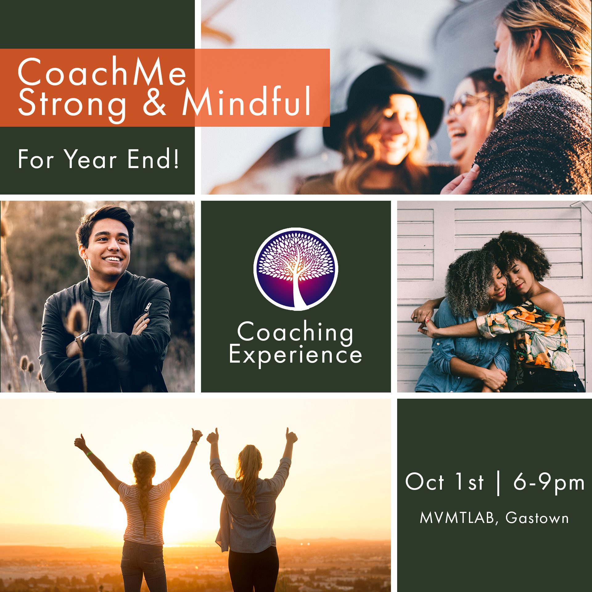 Coaching Events - CoachMe Strong & Mindful For Year End! - CoachMe Vancouver