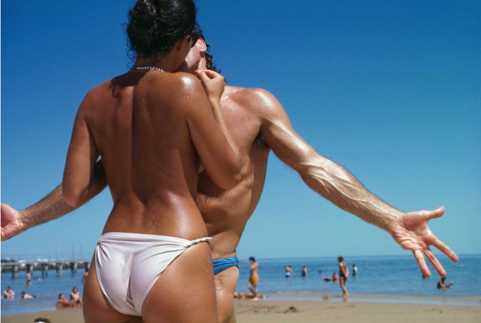 RENNIE ELLIS STKILDA BEACH 1985.jpg