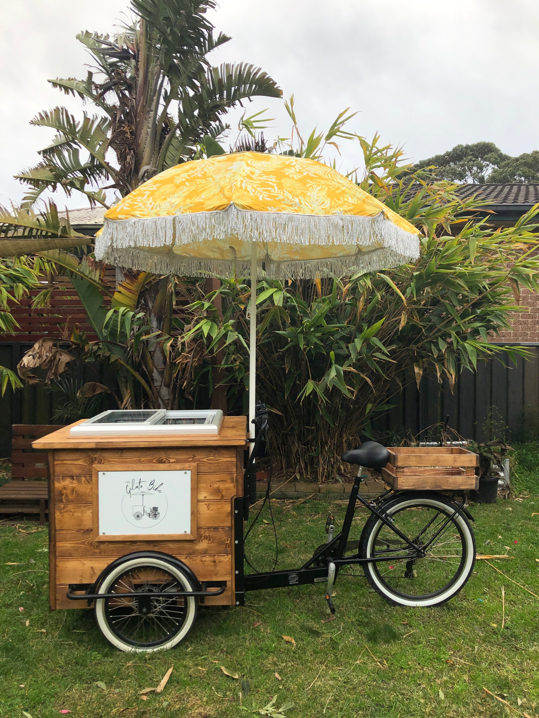 Wood Bike - Yellow ☂️