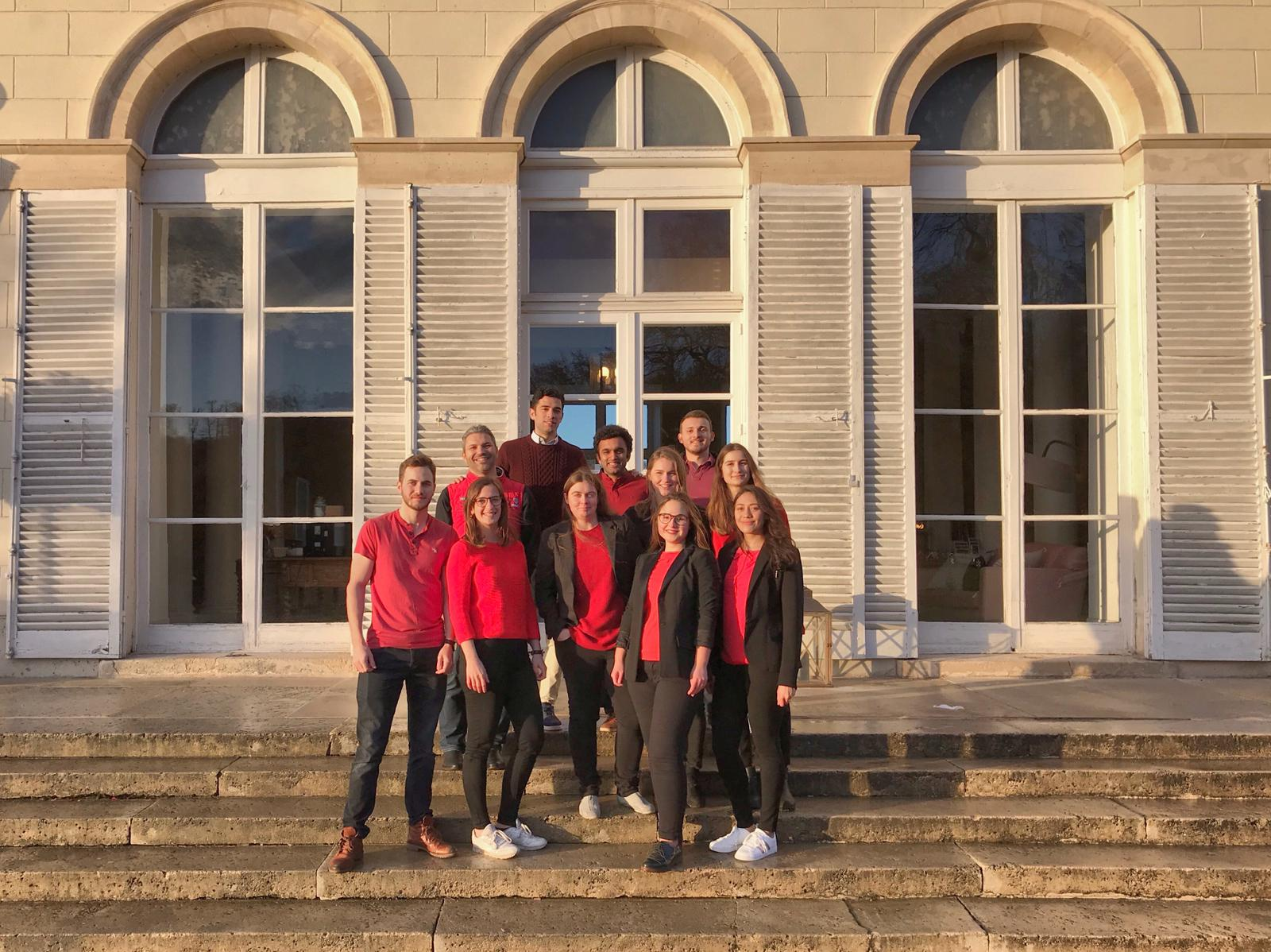The TEDxHECParis Core team
