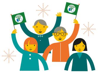 Hållbar framtid - Vi på Krubban värdesätter hållbar utveckling och arbetar aktivt för att skapa medvetenhet och engemang bland barnen i dessa frågor. Därför är vi stolta över den bekräftelse vi fick i juli 2018 då vi blev Grön Flagg certifierade.