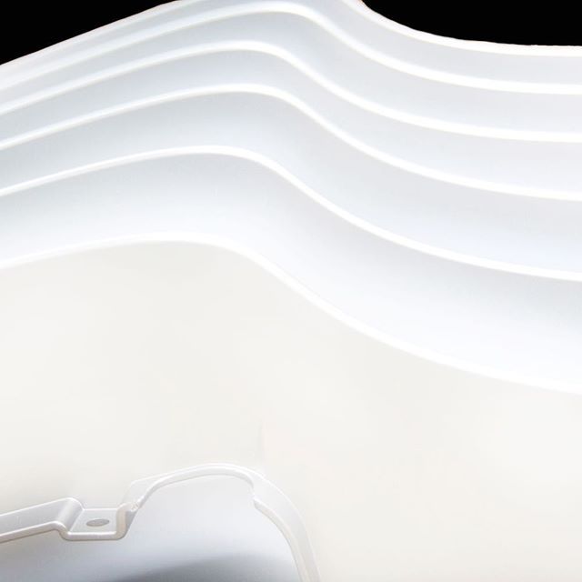 Here is a great example of the strength and endurance of paint. Because beauty is only skin deep, we look deeper. We look to find out what really makes the paint tick [because were #perfectionists]⠀ ⠀ Here are some plastic mouldings painted in a white satin patin, that not only looks great but is also stain and chemical resistant!⠀ Goodluck trying to get something to stick to these!⠀ :⠀ :⠀ :⠀ :⠀ ⠀ ⠀ #dmauto #dandm #painting #paint #manufacturing #home #house #interiordesign #design #new #work #spraypaint #art #interiordesign #design #architecture #photography #builders #construction #abbrobitics #robots #protection #robots #spraypaint #protection #resistant