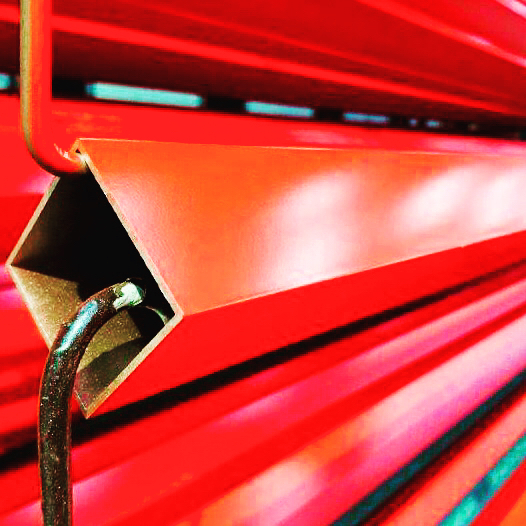 Now that red is a beauty isn't it!  Aluminum extrusion in coles red.  And these photos don't do it justice!! Interested?  Why not come down and check them out for yourself?  We love visitors!! : : : : #dmauto #dandm #painting #paint #manufacturing #home #house #interiordesign #design #new #work #spraypaint #art #interiordesign #design #architecture #photography #builders #construction #abbrobitics #robots #protection #robots #spraypaint