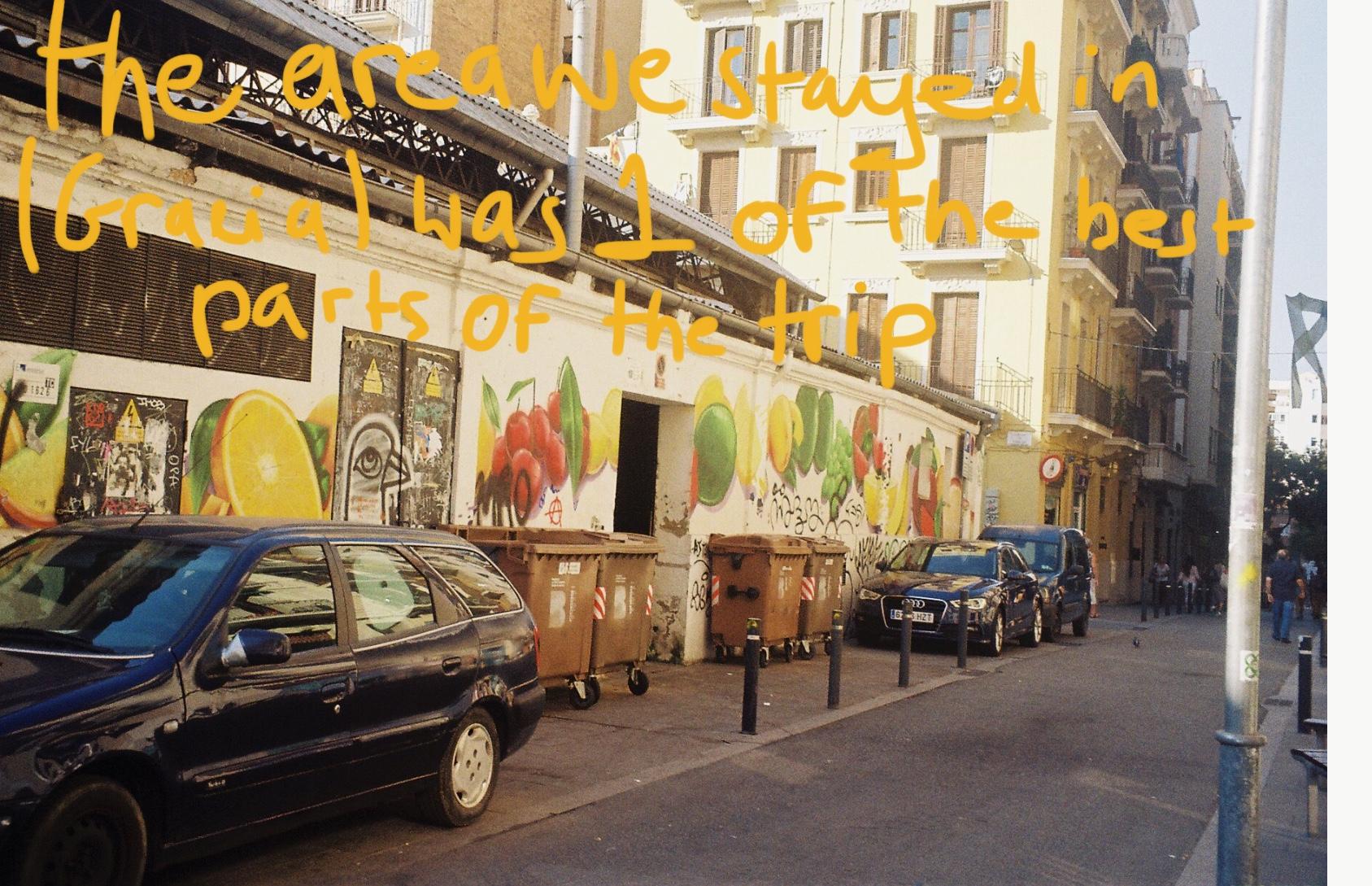 Barcelona on 35mm Film
