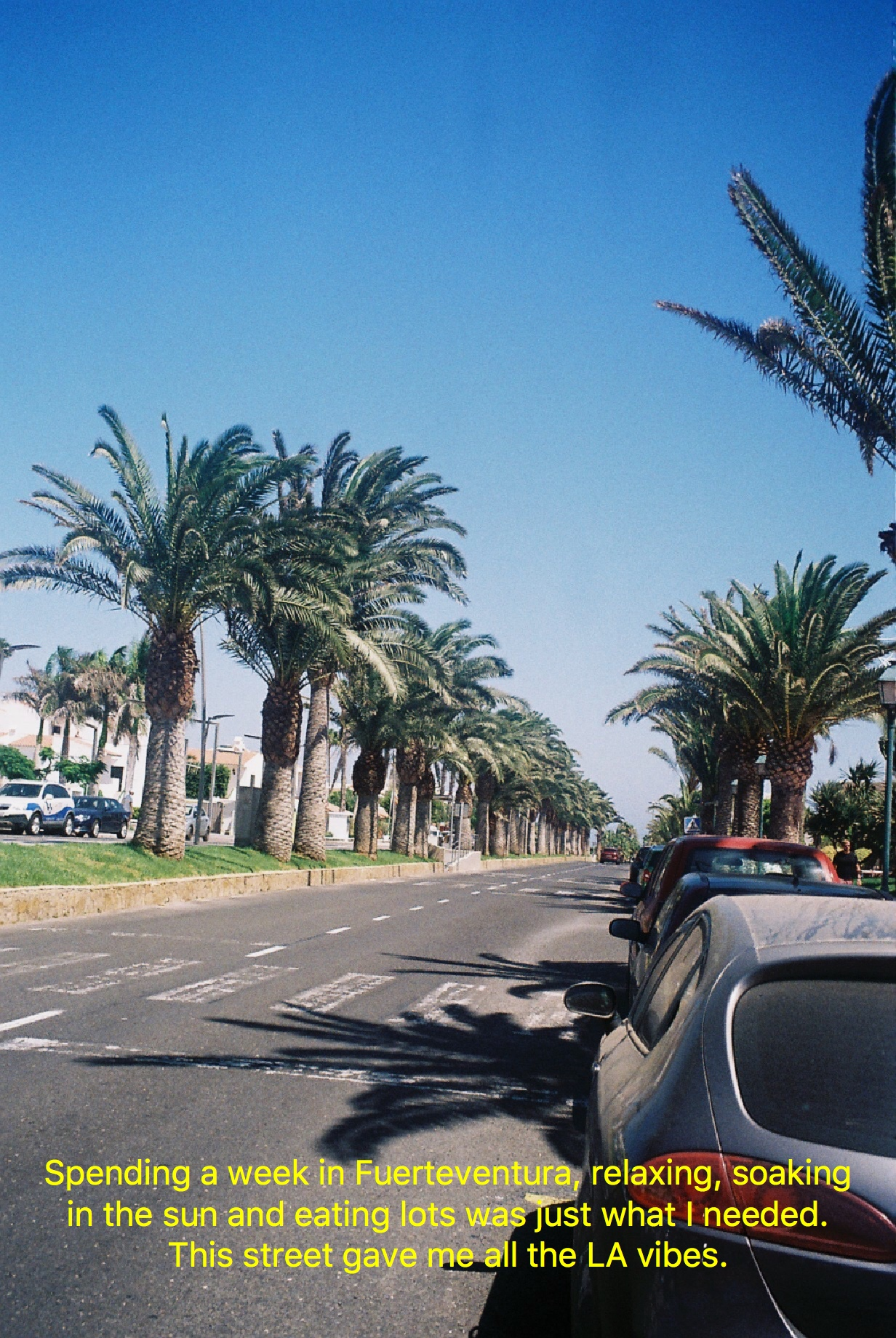 Fuerteventura on 35mm Film