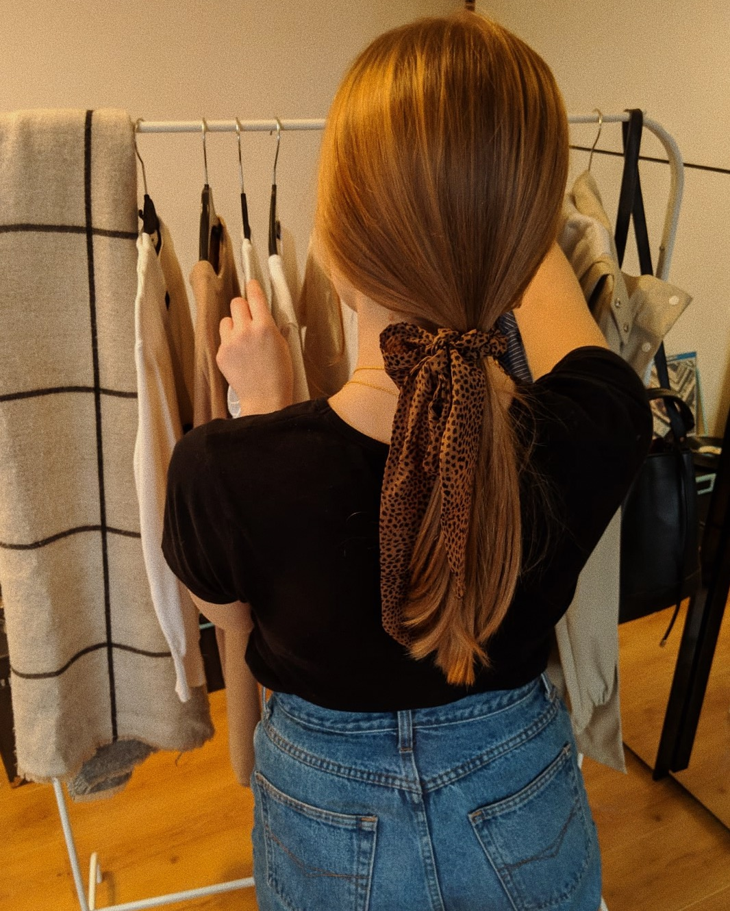 Links in the post marked with a * are affiliate links.  Hair Ribbon-  Urban Outfitters