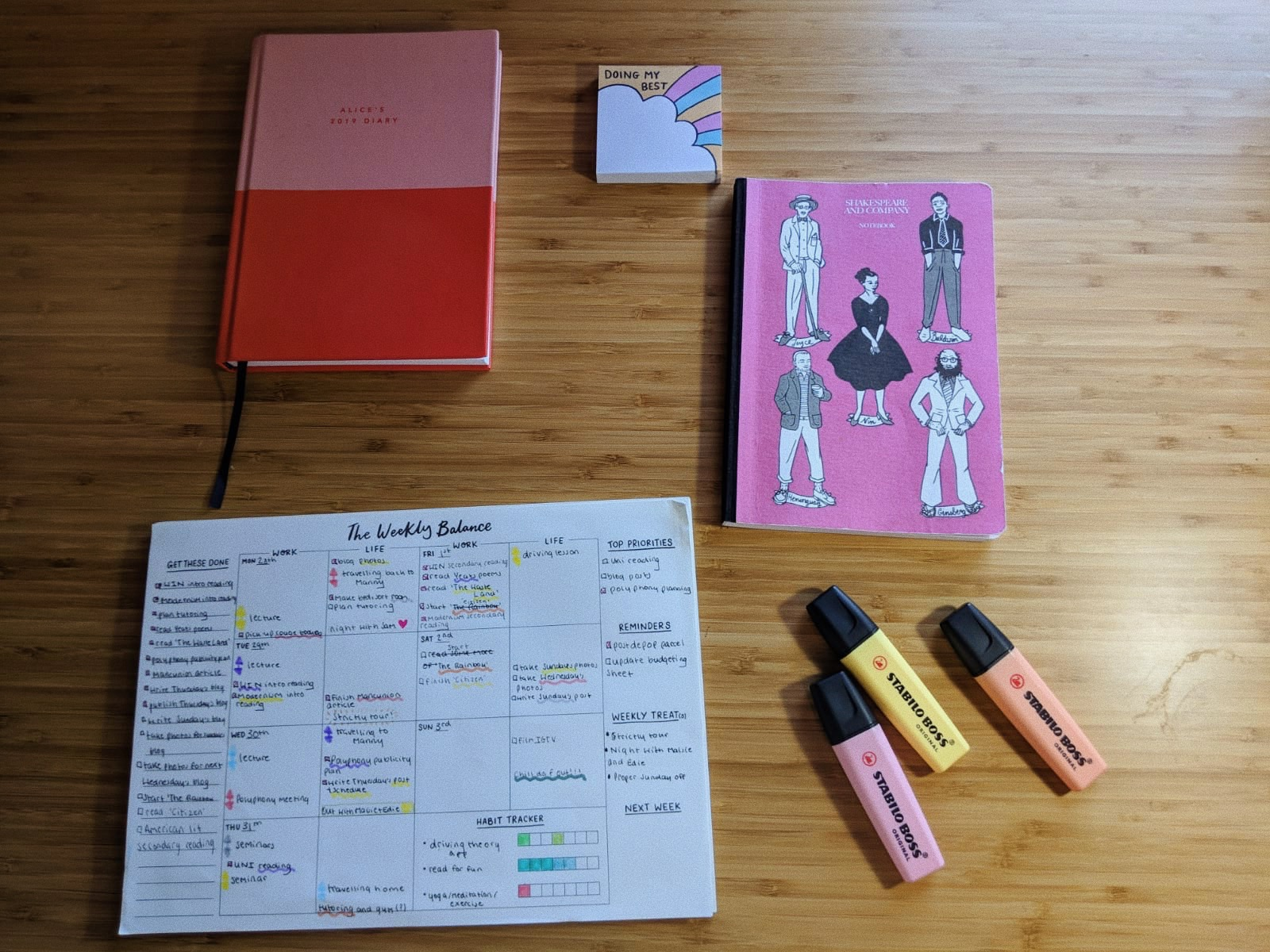 How to Become More Organised as A Student | 5 Tips That Will Make Your Life Easier4.JPG