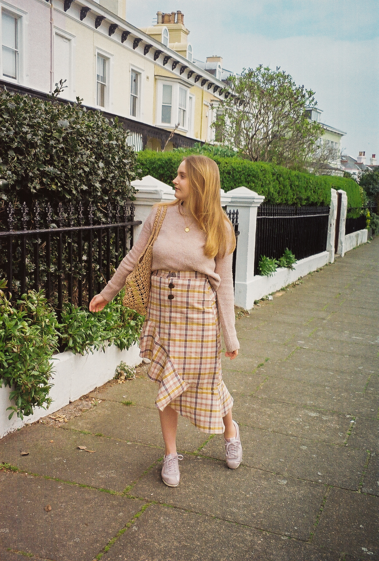 Pastel Spring Outfit Pastel Checks