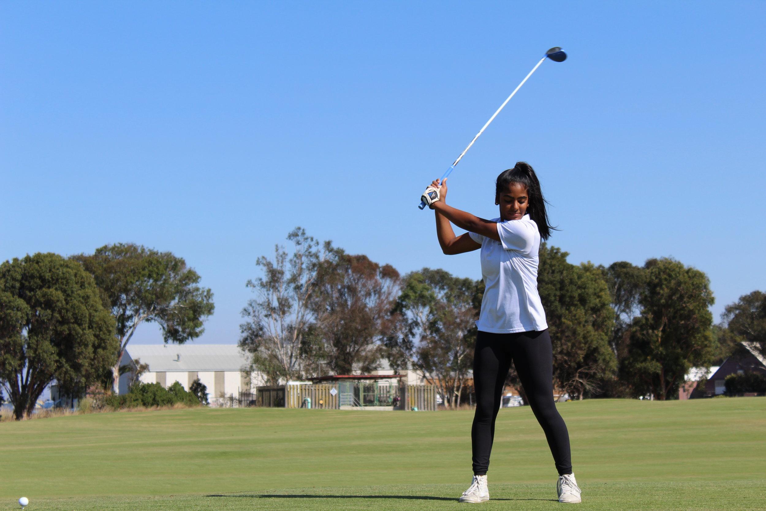 Golf, badminton, tennis (doubles) = Moderate Intensity