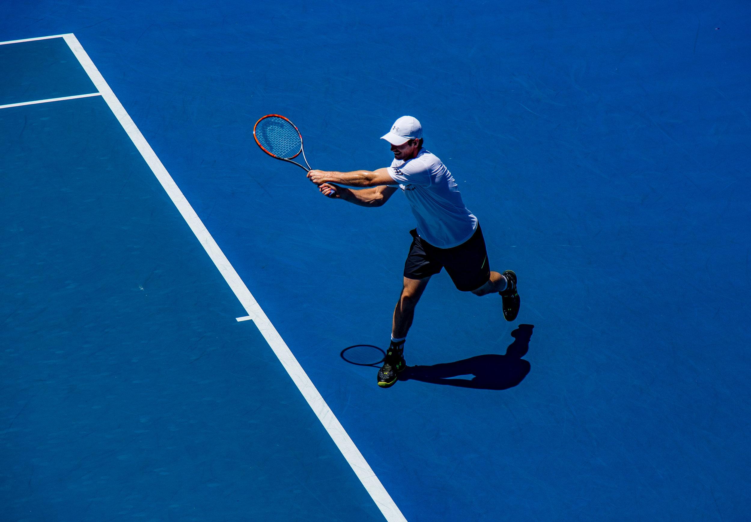 Tennis (singles) = Vigorous Intensity