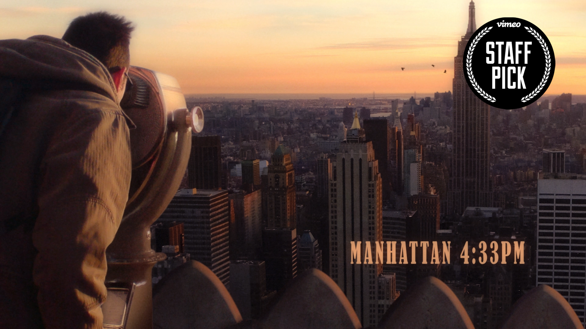 Manhattan 4.33pm by Lizzie Oxby