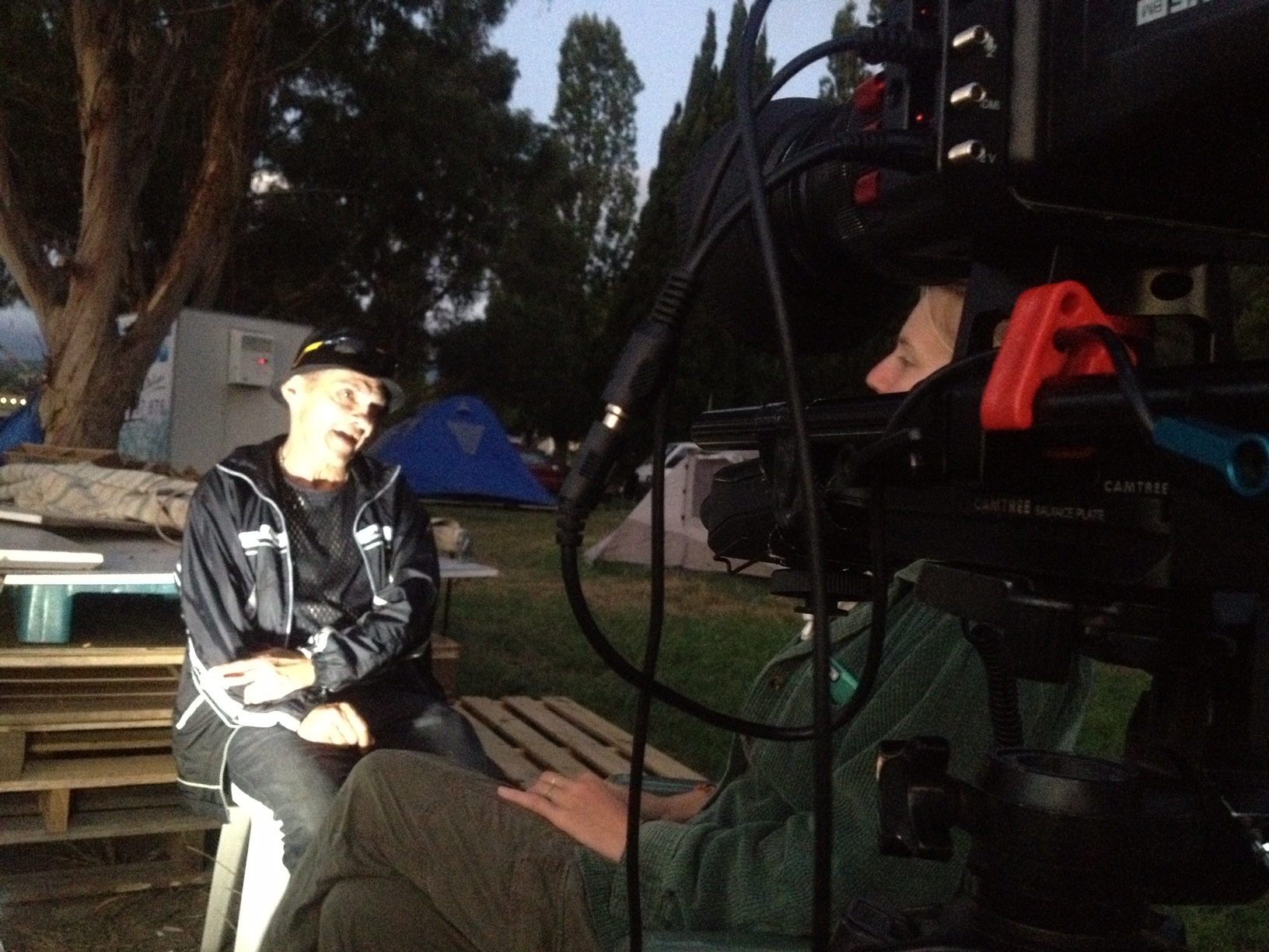 Interview at the Aboriginal Tent Embassy - Canberra January 2017