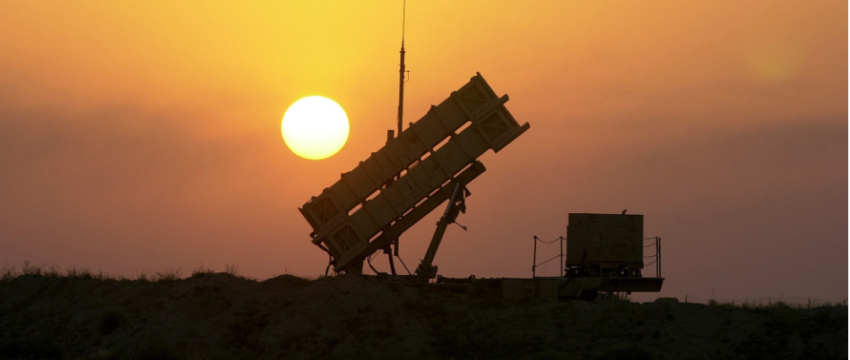 A Patriot missile battery deployed in the Middle East (Credit: Todd Maisel, NY Daily News via Getty Images)