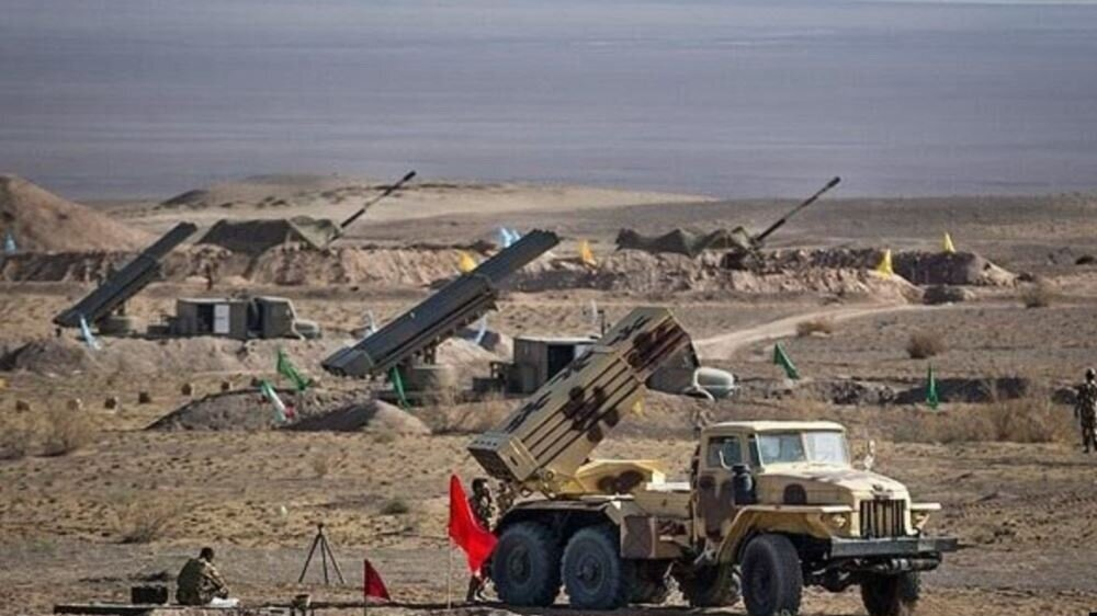 Iranian media released this photo showing unscheduled military exercises in northwest, close to Turkey's borders. October 9, 2019 (Credit: IRNA)