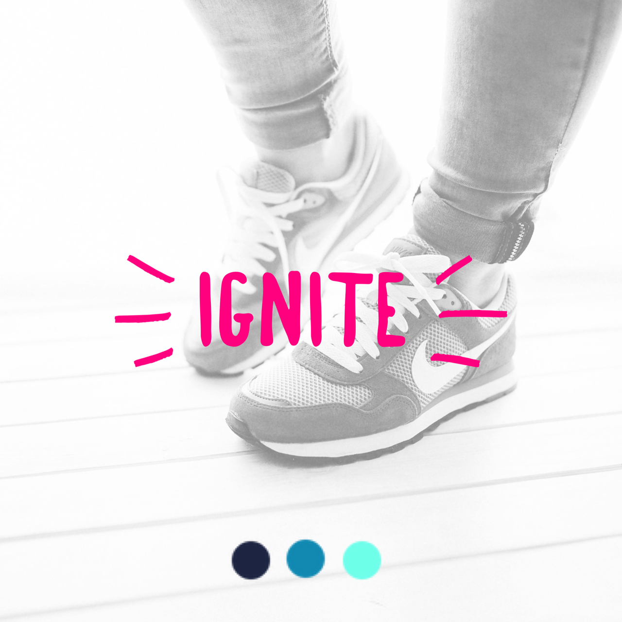"""APRIL   In April, we encourage you to  IGNITE  and take the first step towards your goals. It's time to find your motivation and discover your """"why."""""""