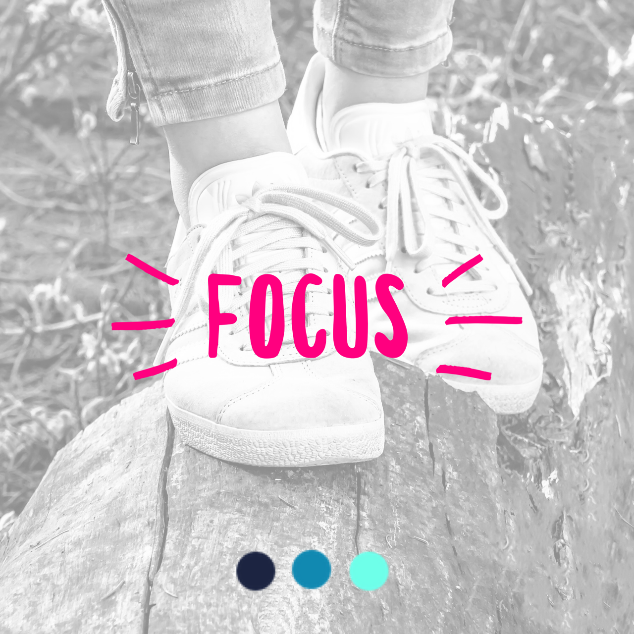 MAY   In May, we remind you to  FOCUS . Make yourself a priority. Focus on the progress you made and continue on your path.