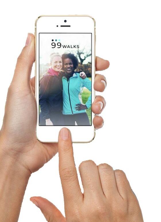 The app that makes walking fun!
