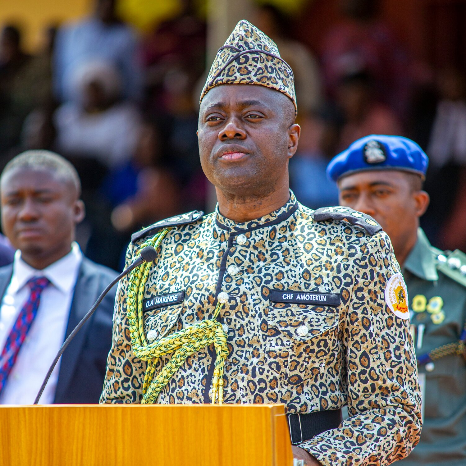 Governor Seyi Makinde's Speech at the Passing Out Parade of the Oyo State Security Network Agency codenamed Amotekun