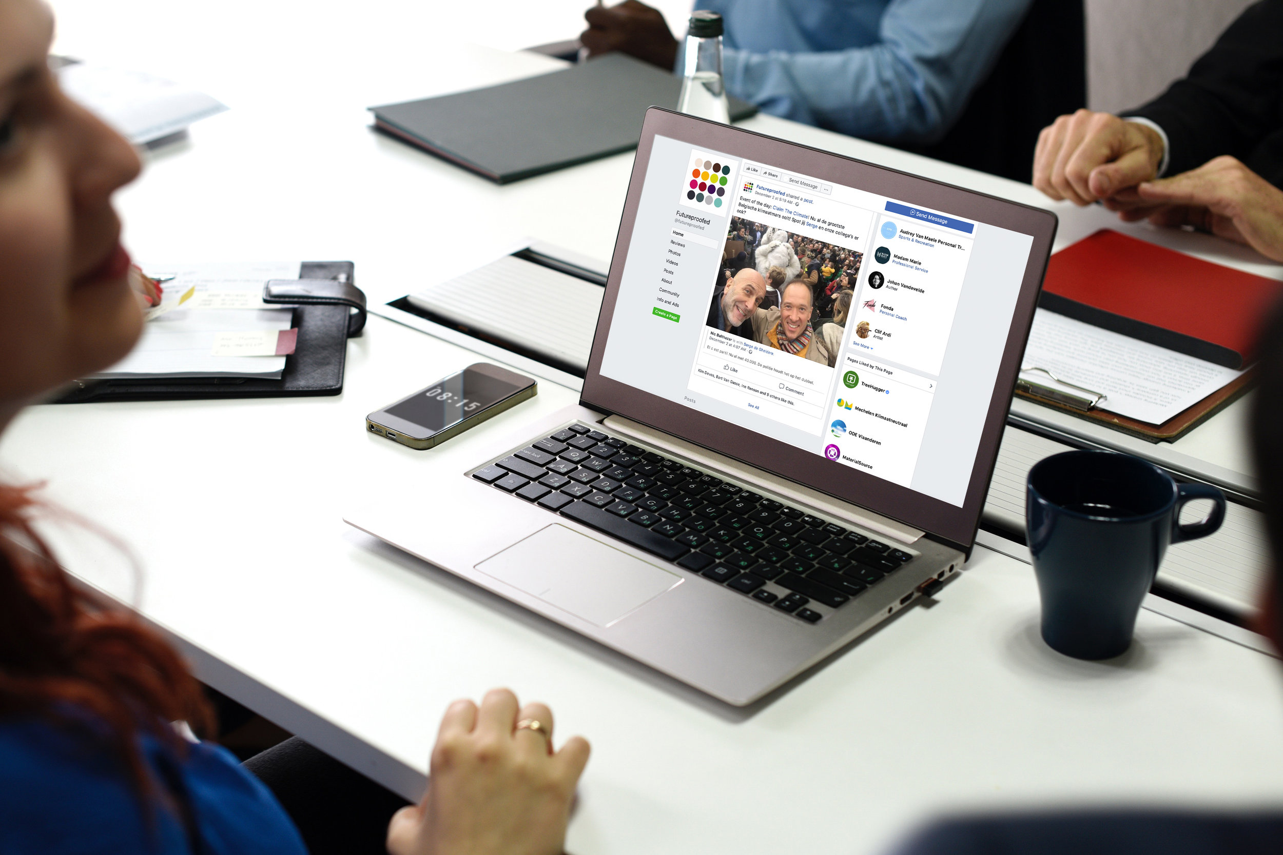 facebook - Our team adventures, best practices from our clients, inspiring articles and the latest news regarding climate change can be found on our Facebook page.