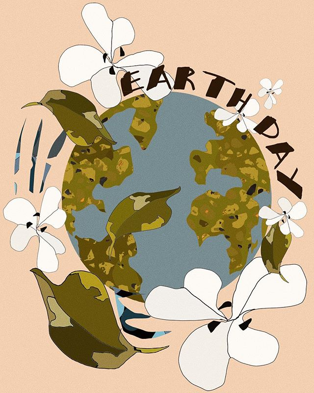 Let's all play our part to help take care of Mother Earth and make it a better place.  May we be more mindful in our actions. Happy Earth Day!
