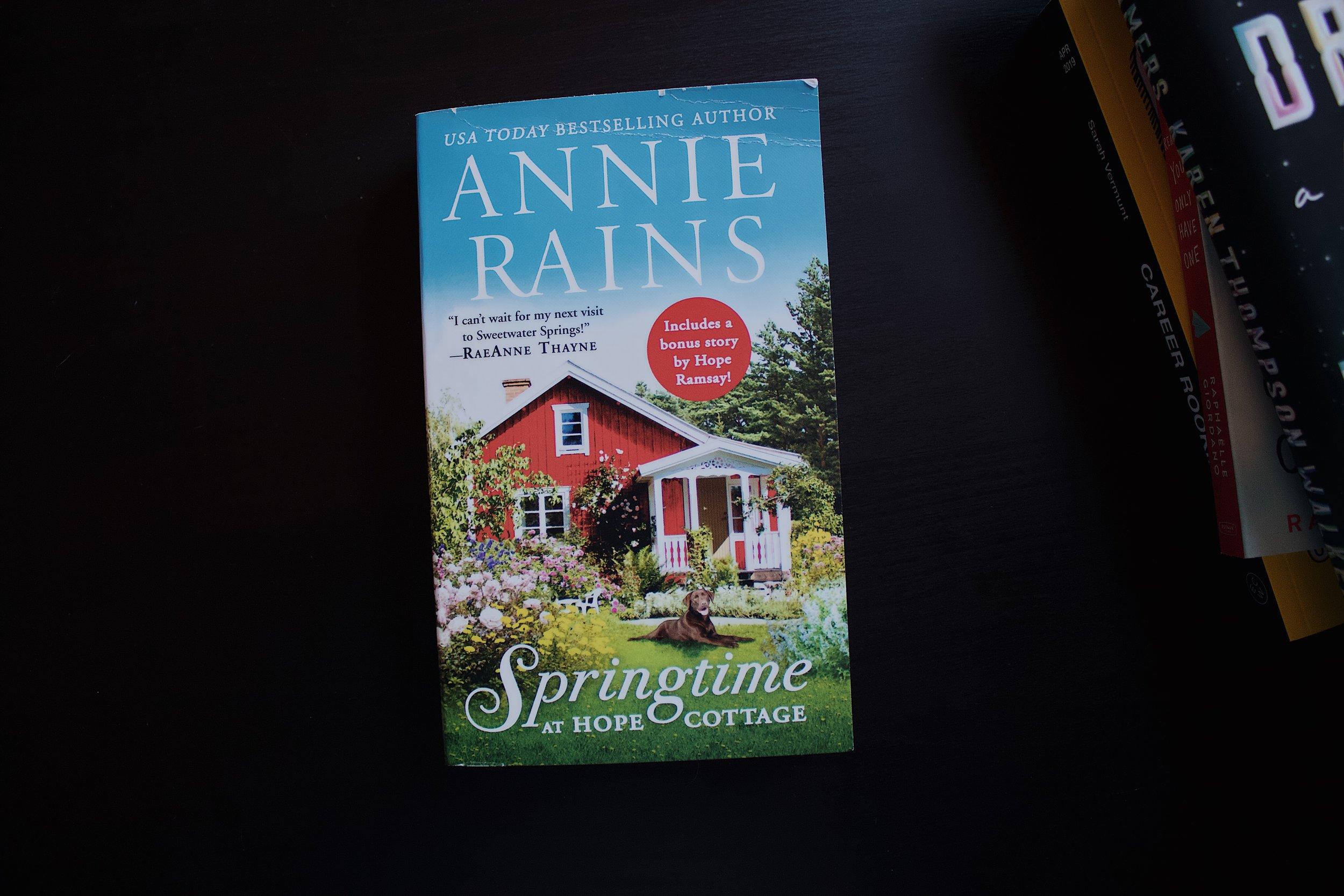 springtime at hope cottage