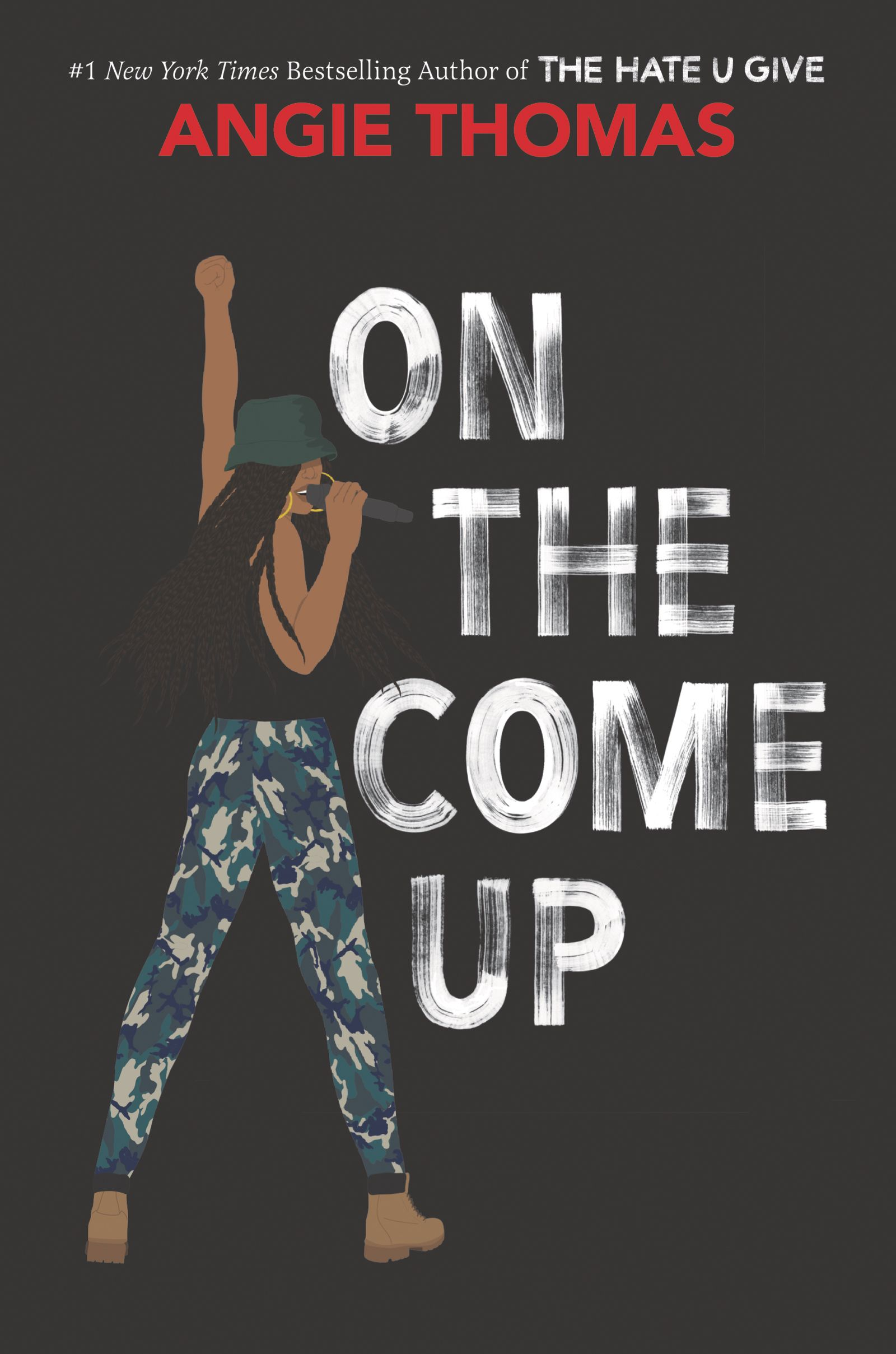 on the up come by angie thomas - Sixteen-year-old Bri wants to be one of the greatest rappers of all time. Or at least make it out of her neighborhood one day. As the daughter of an underground rap legend who died before he hit big, Bri's got big shoes to fill. But now that her mom has unexpectedly lost her job, food banks and shutoff notices are as much a part of Bri's life as beats and rhymes. With bills piling up and homelessness staring her family down, Bri no longer just wants to make it—she has to make it.On the Come Up is Angie Thomas's homage to hip-hop, the art that sparked her passion for storytelling and continues to inspire her to this day. It is the story of fighting for your dreams, even as the odds are stacked against you; of the struggle to become who you are and not who everyone expects you to be; and of the desperate realities of poor and working-class black families.