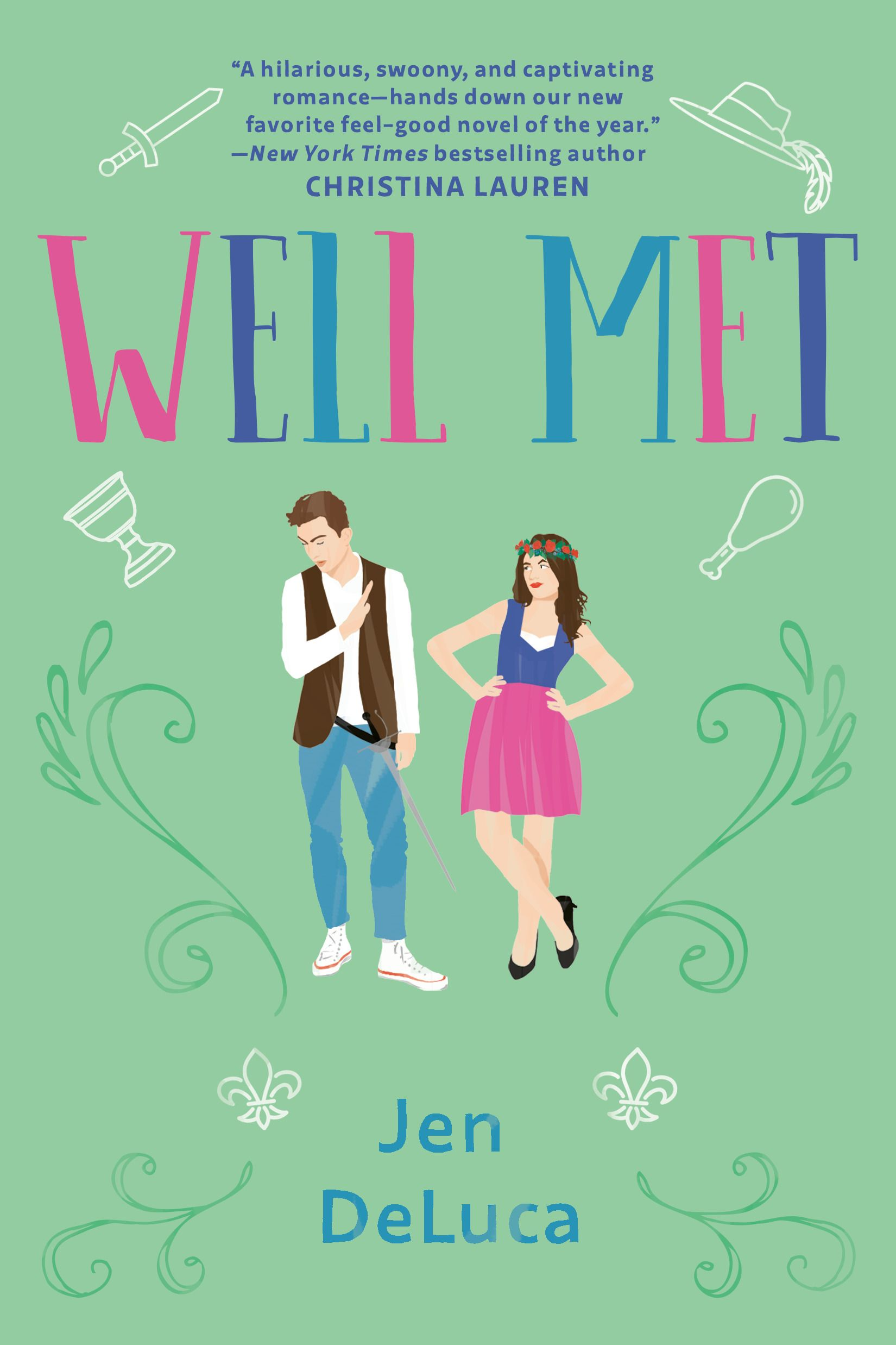 September 3 (Berkley) - All's faire in love and war for two sworn enemies who indulge in a harmless flirtation in a laugh-out-loud rom-com from debut author, Jen DeLuca.Emily knew there would be strings attached when she relocated to the small town of Willow Creek, Maryland, for the summer to help her sister recover from an accident, but who could anticipate getting roped into volunteering for the local Renaissance Faire alongside her teenaged niece? Or that the irritating and inscrutable schoolteacher in charge of the volunteers would be so annoying that she finds it impossible to stop thinking about him?The faire is Simon's family legacy and from the start he makes clear he doesn't have time for Emily's lighthearted approach to life, her oddball Shakespeare conspiracy theories, or her endless suggestions for new acts to shake things up. Yet on the faire grounds he becomes a different person, flirting freely with Emily when she's in her revealing wench's costume. But is this attraction real, or just part of the characters they're portraying?This summer was only ever supposed to be a pit stop on the way to somewhere else for Emily, but soon she can't seem to shake the fantasy of establishing something more with Simon, or a permanent home of her own in Willow Creek.