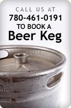 book a beer keg
