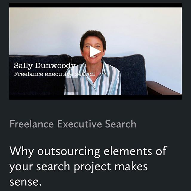 Are you a Freelancer?  CVs and LinkedIn profiles are standard. Why not Stand Out from the crowd with your own micro website and video?  A short video enables potential clients to 'meet' you - seeing and hearing you forms a quick but lasting impression. Take your business development up a notch.  www.sallydunwoody.com  #webdevelopment #webdesign #freelancer