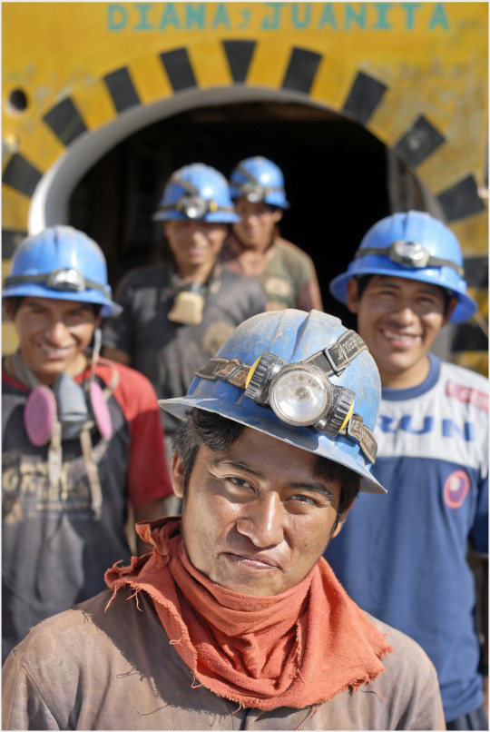 Aurelsa Miners – Peru. photo credit: Ethical Metalsmiths Guild