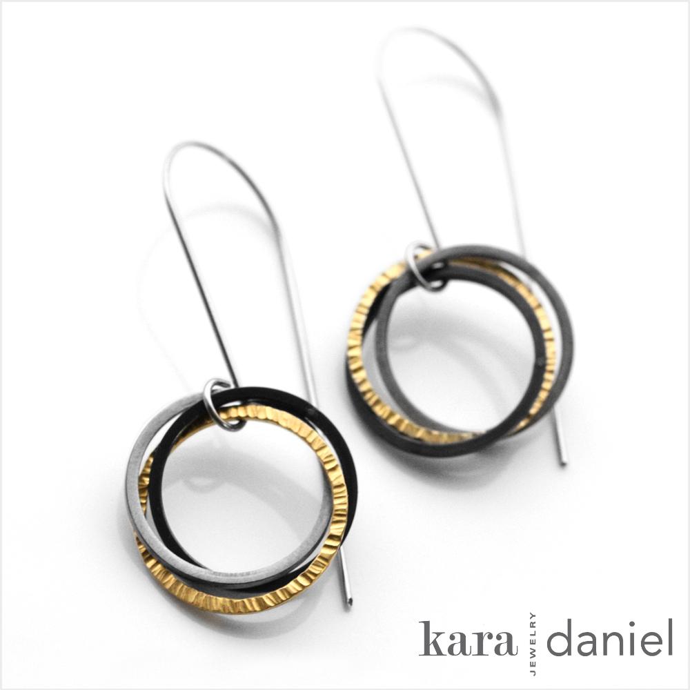 FAIRMINED gold earrings