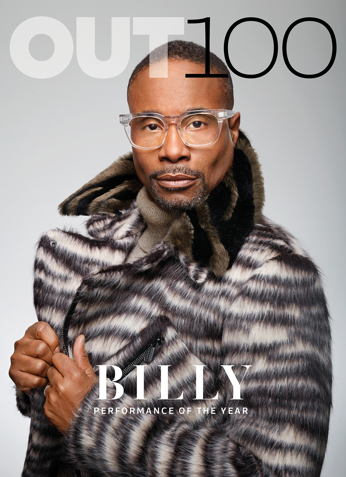 OUT Magazine  / Dec '18 - Jan '19 (OUT100) issue . (Cover 2/4. Billy Porter. Photography by Martin Schoeller)   CLICK THE IMAGE ABOVE TO VIEW THE ENTIRE ISSUE.