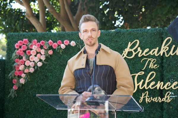 """WEHO TIMES  (OUTSTANDING COMMUNITY LEADER AWARD HONOR AT THE BREAKING THE SILENCE AWARDS)   """"Honorees included former West Hollywood Mayor Abbe Land, Williams' Institute Founding Executive Director Brad Sears, Pulse Shooting Massacre Survivor Angel Colons, Celebrity DJ Zeke Thomas, and OUT Magazine Managing Editor R. Kurt Osenlund."""""""