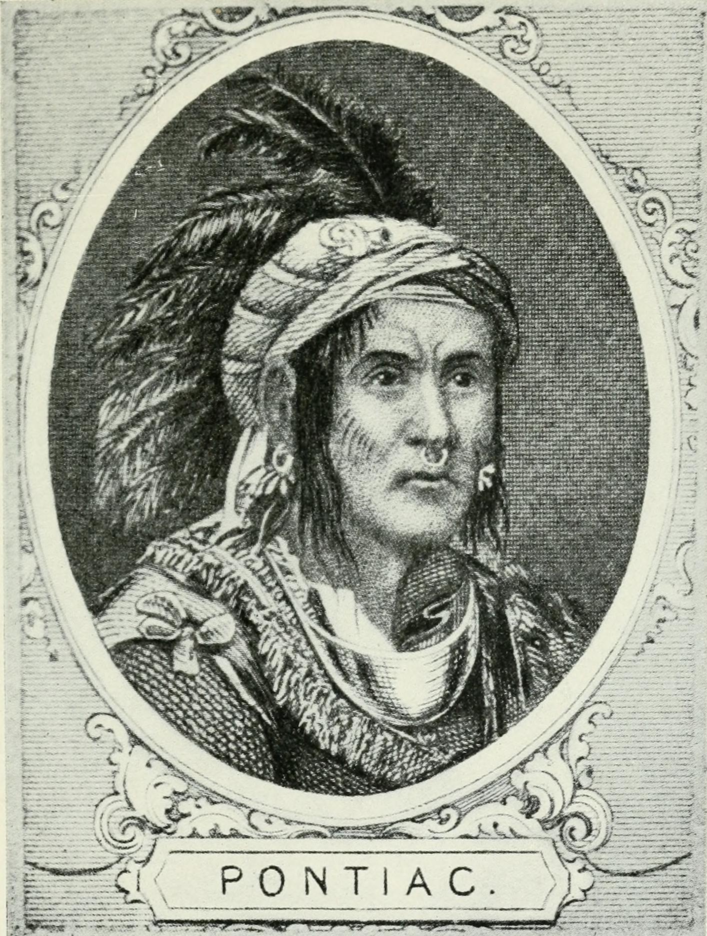 Chief Pontiac, Odawa (Ottawa) d. 1769