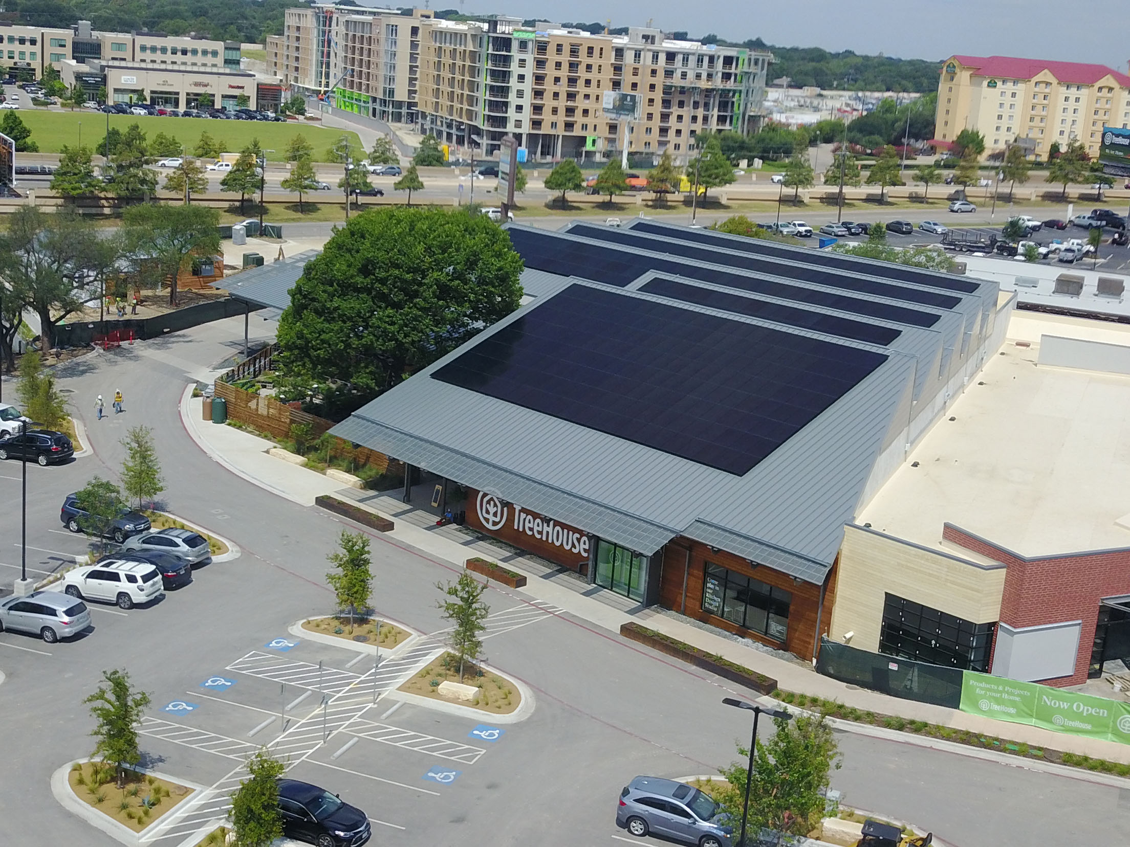 Commercial - Turnkey commercial solar power system designed, installed and supported by the most experienced team in Central Texas.