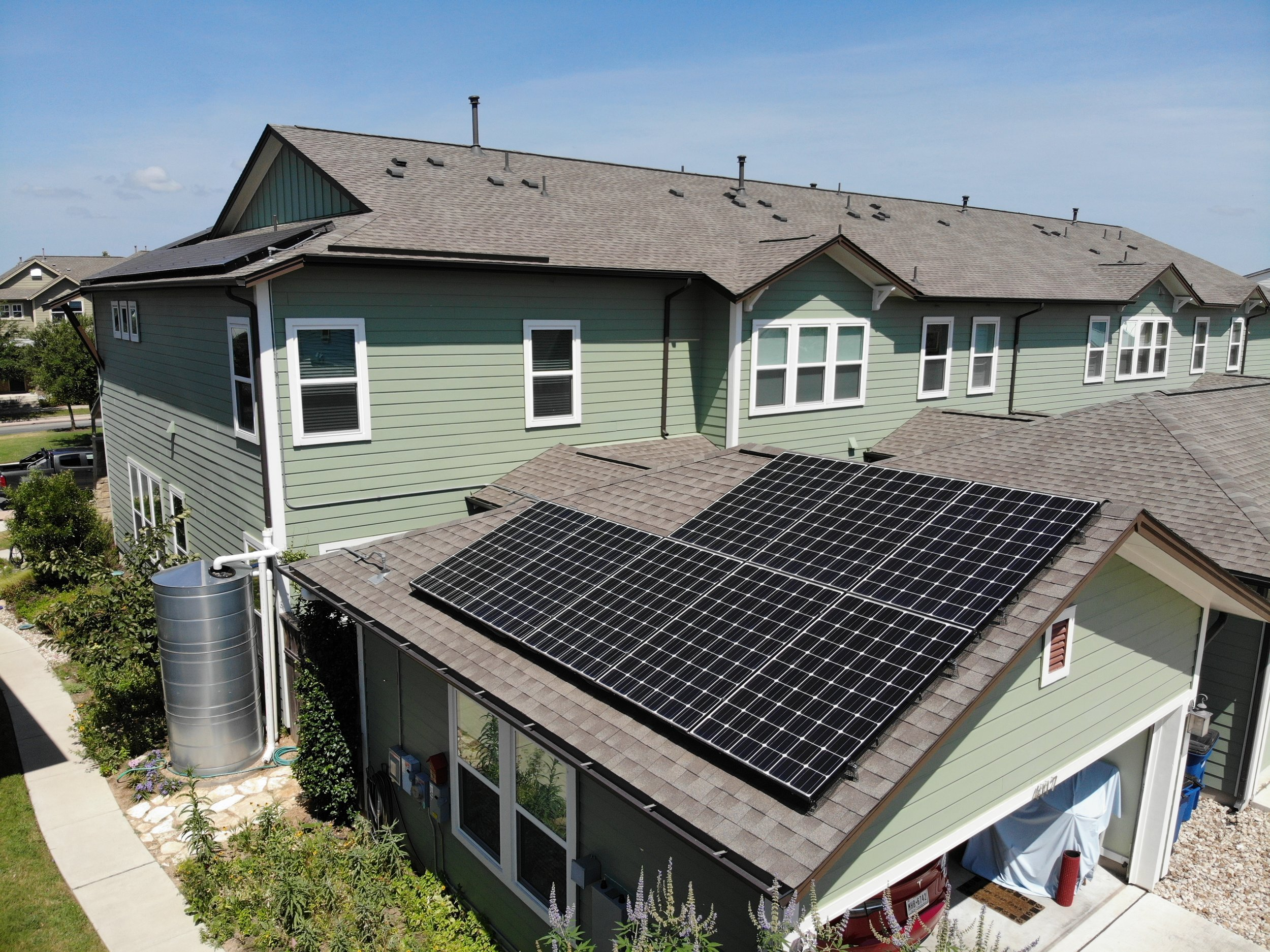 Solar Panel System with Battery Storage -