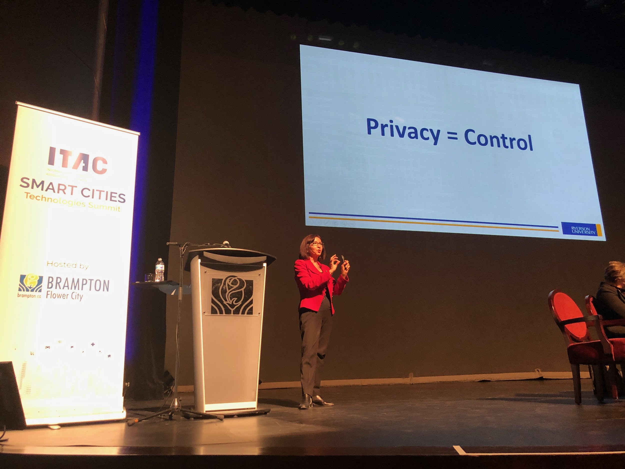 Ann Cavoukian, Three-term Information and Privacy Commissioner of Ontario and Distinguished Expert-in-Residence at the Privacy by Design Centre of Excellence at Ryerson University
